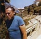 Photo #4 of Charles Bukowski on a trip to Catalina island with Liza Williams, 1972