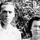 Photo of Charles Bukowski and his parents, 1940s